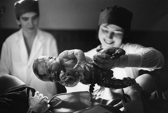 Maternité Hôpital de Sèvres,1983.©v.winckler.2003n°3