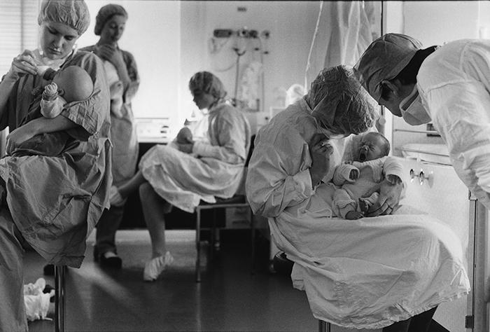 Néonatologie, Hôpital Antoine Béclère,1983.©vwinckler.1992n°14